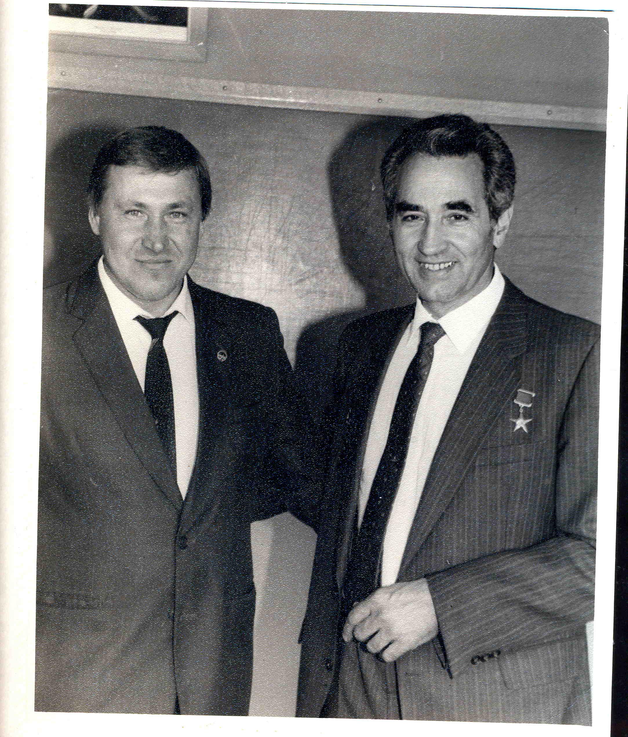 Чудаков В.А. (слева) и Северин Г.И. (справа)